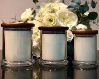 Premium Soy Wax Candles (available in various sizes)