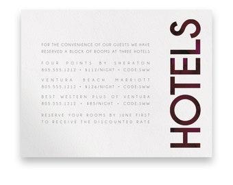 Modern Enclosure Card/Wedding Invitation Suite/Wedding Invites/Invitation Suites/Modern Wedding Invitation/Bold/Marsala/Watercolor/Unique