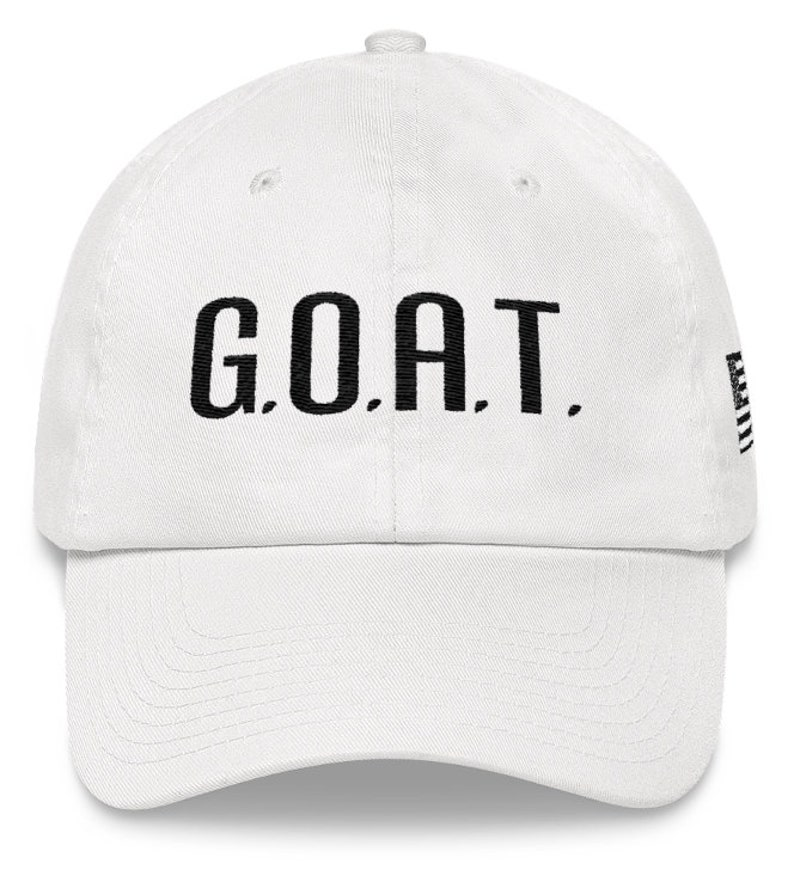 G.O.A.T. Greatest Of All Time DAD HAT  81ee09da43f