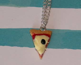 Necklace - Slice of pizza to the fromge