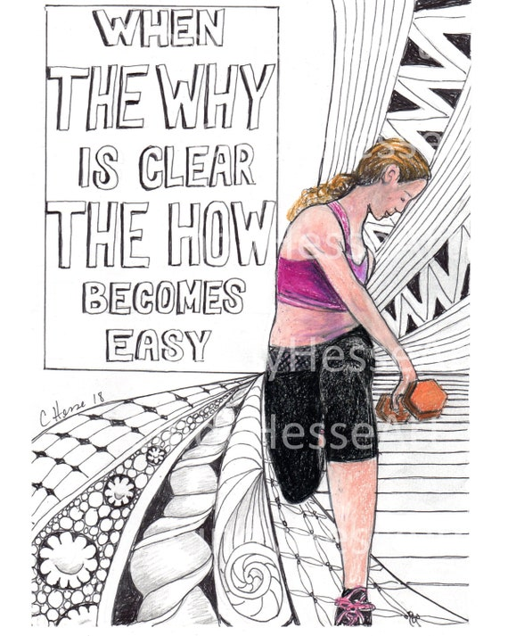 Gym decor, fitness inspiration, motivational quotes, lunges, female lifter,  fit girl art, quote illustration, dumb bells,