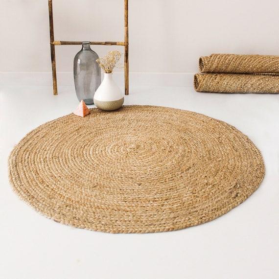 Round Jute Rug Natural, Round Sisal Rug
