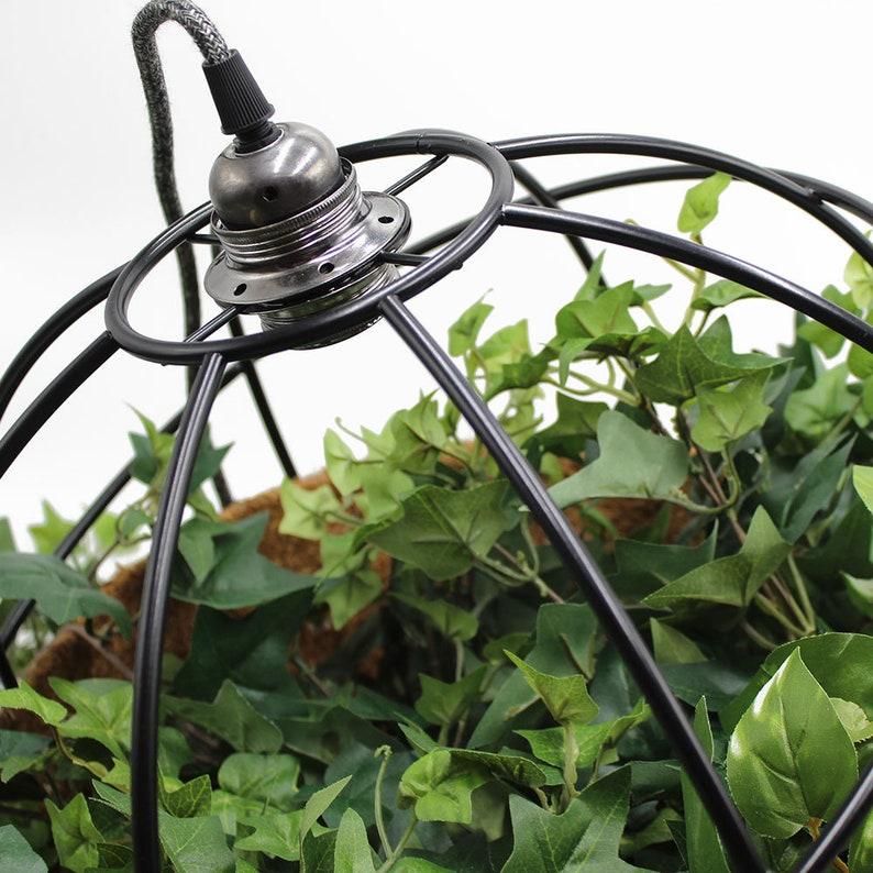 ON SALE Pendant Light.Planter Pendant.Iron Pendant Light Nordic Light Fixture.Chandelier