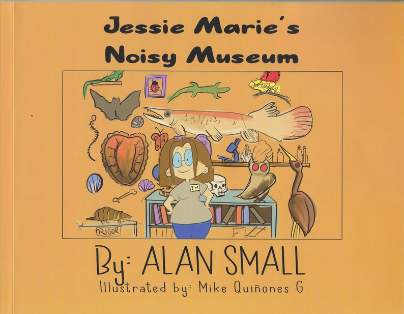 Autographed Copy of Jessie Marie's Noisy Museum image 0