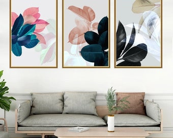 Wall Sticker, Wall Decal, Flowers Wall Deca, Cool Wall Decor, Nature Wall