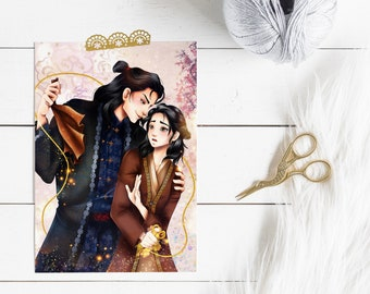 """Print """"Maia & Edan"""" 