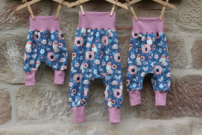 With Wax Pants Pants Jersey Size 50  Size 98 Baby Toddler image 0