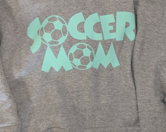 Soccer Mom. Customize your colors and name on the back!