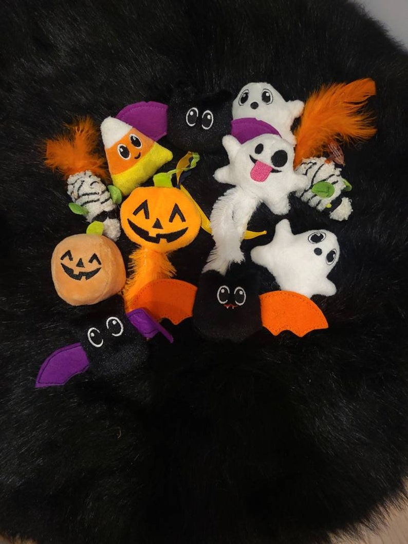 Halloween Catnip Toys, Mix and Match