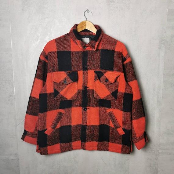 Oversized Plaid Lumberjack Women's Jacket 80s 90s