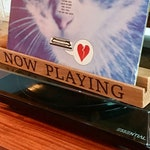 Solid Oak Wooden Vinyl Record Holder/Display 'Now Playing' Laser Burned Etching