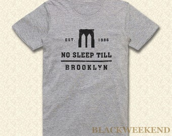 6e653d34a No sleep till brooklyn t-shirt 1986 t shirt music shirts funny shirt  beastie boys tee gift shirt retro shirt birthday shirt 80s shirt 115