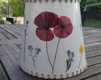 Rustic Wildflower Lampshade