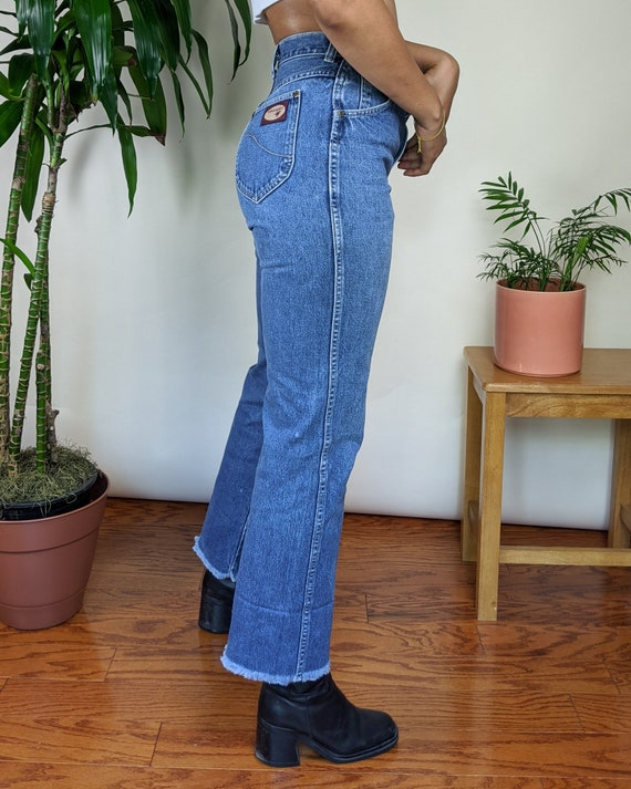 70s 27W Wrangler High Waisted Denim Jeans