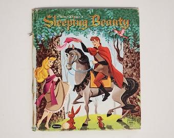 "Sleeping Beauty Book - 1959 - Walt Disney Productions - 5.5""x6"""