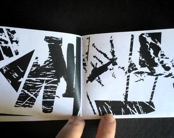 Exhumation Report No. 1 -- Xerox Art Zine -- Abstract Art