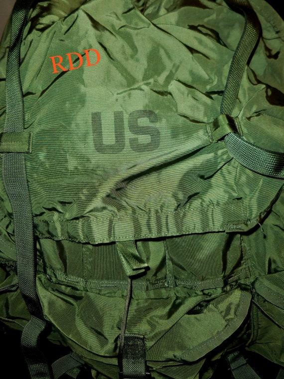 NEW USGI MILITARY OD GREEN MEDIUM ALICE PACK ONLY USA MADE LC-1