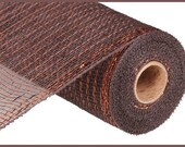 Chocolate Brown Copper Mesh 10 quot x 10 YARD ROLL RE1301E2