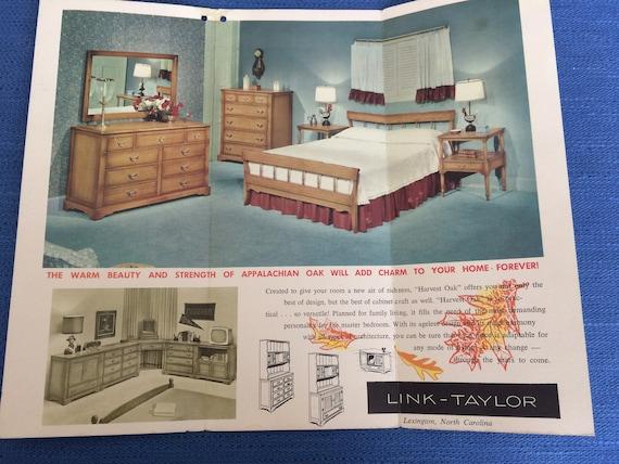 Vintage Furniture Brochure Advertisement 1958 Etsy