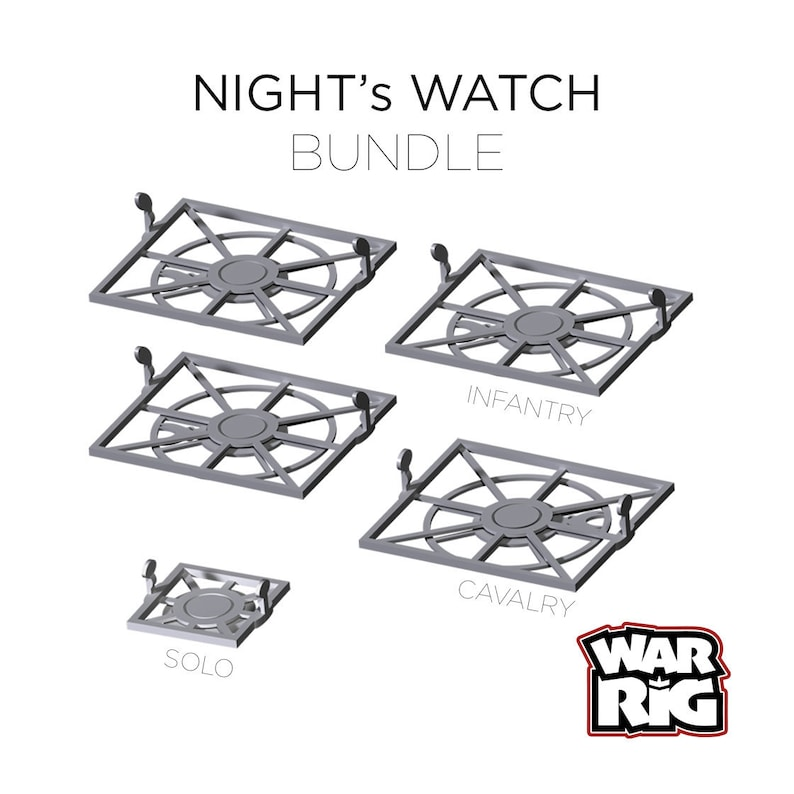 WarRig Night's Watch Starter Bundle for A Song of Ice & image 0