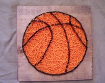 Basketball String Art - Ready to Ship