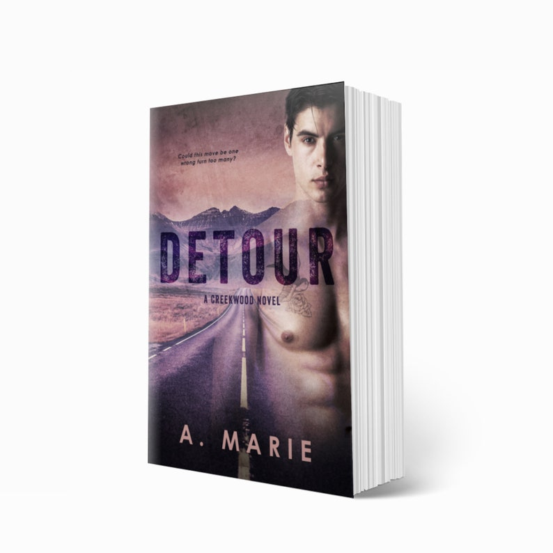 DETOUR By A. Marie Signed Paperback / New Adult Romance / image 1