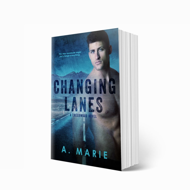 CHANGING LANES by A. Marie Signed Paperback / Mature New Adult image 0