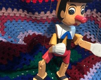 Vintage Pinocchio Puppet
