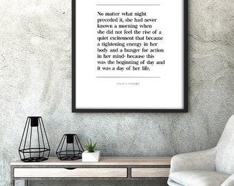 Ayn Rand Poster Etsy