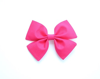 Raspberry Butterfly Bow