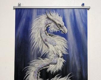 Water Dragon Art Wallscroll