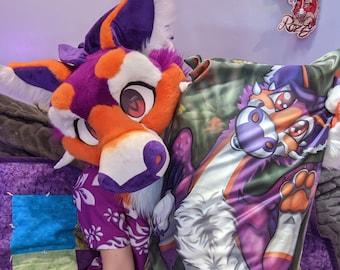 Adorable Duskyn Body Pillowcase