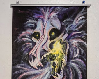 The Darkness Within Art Wallscroll