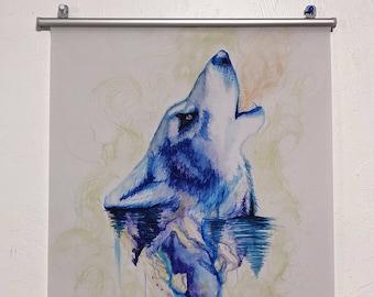 Thy Home Art Wallscroll