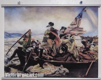Dogs of War Art Wallscroll