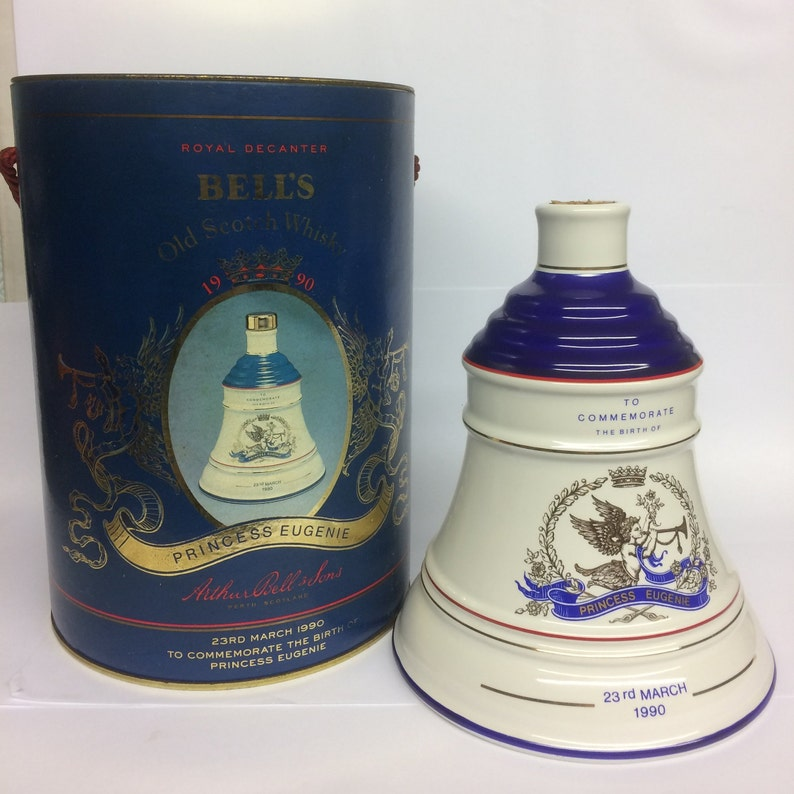 85d3b24afe41 Whiskey Decanter Princess Eugenie Collectable Vintage Royal