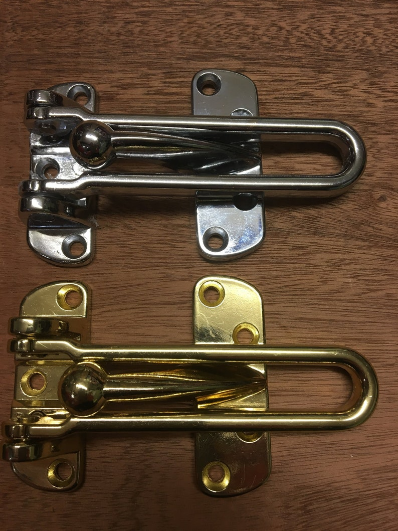 High Quality Security Chain. Chrome Door Chain for UPVC Timber Doors