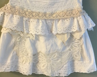 Vintage Apron Skirt