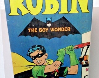 "Aurora-Robin ""The Boy Wonder"" Assembly kit-1966-Factory Sealed-Batman"