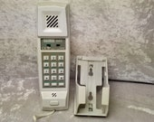 Babt Dialatron 66S vintage push button Telephone with Wall Bracket