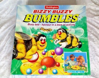 Bizzy Buzzy Bumbles- Waddingtons 1991- Complete and thoroughly checked