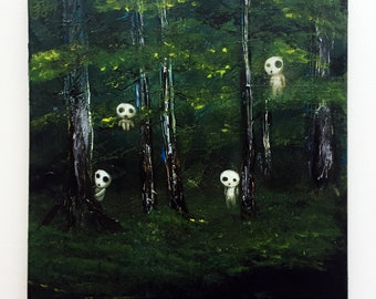 Spirits of the Forest - ORIGINAL painting