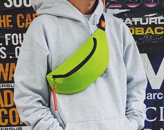 Minimalist Bum Bag Lime Green