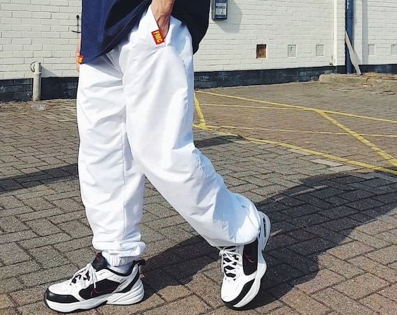 Baggy Trackies White