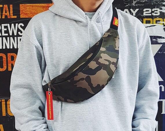 Minimalist Bum Bag Camo