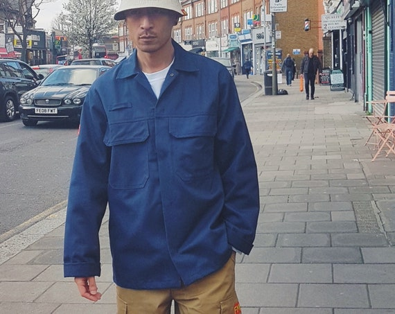 French Worker Jacket Navy