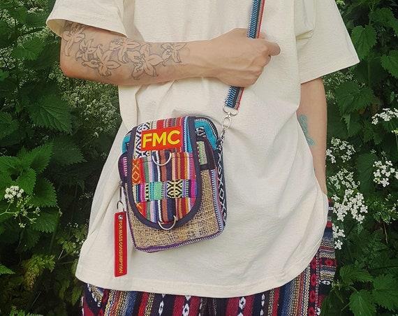 Hippie Hop Patchwork Cross Body Bag