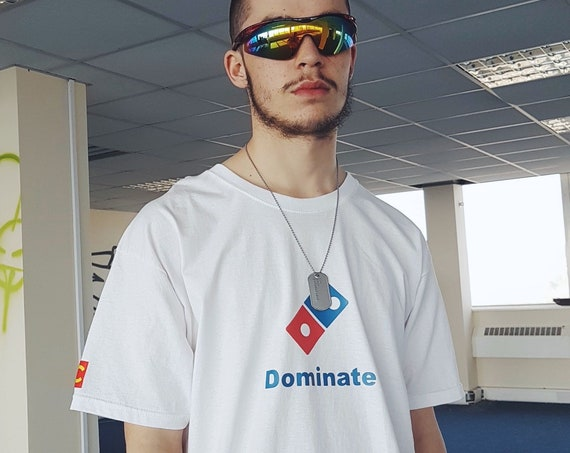 Dominate T-shirt White Oversized Fit