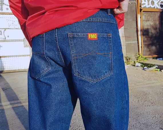 Baggy Oversized Jeans Blue