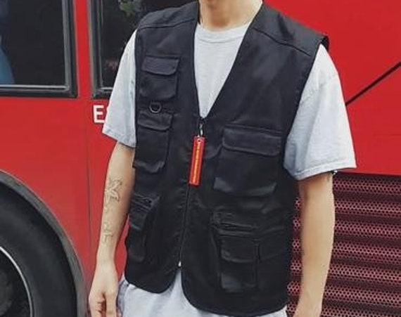 Lightweight Utility Vest Black